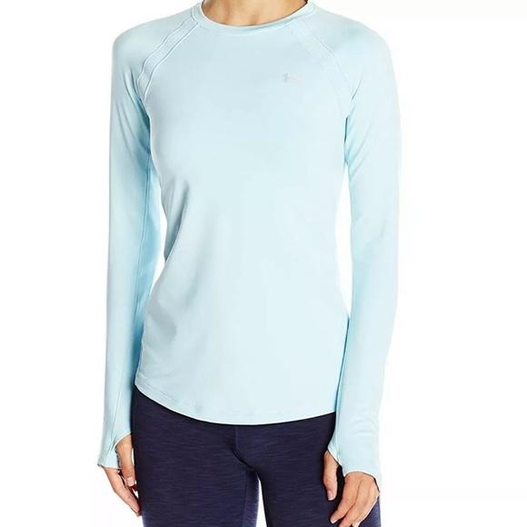 NEW! Under Armour Light Blue Activewear Top • Sz M